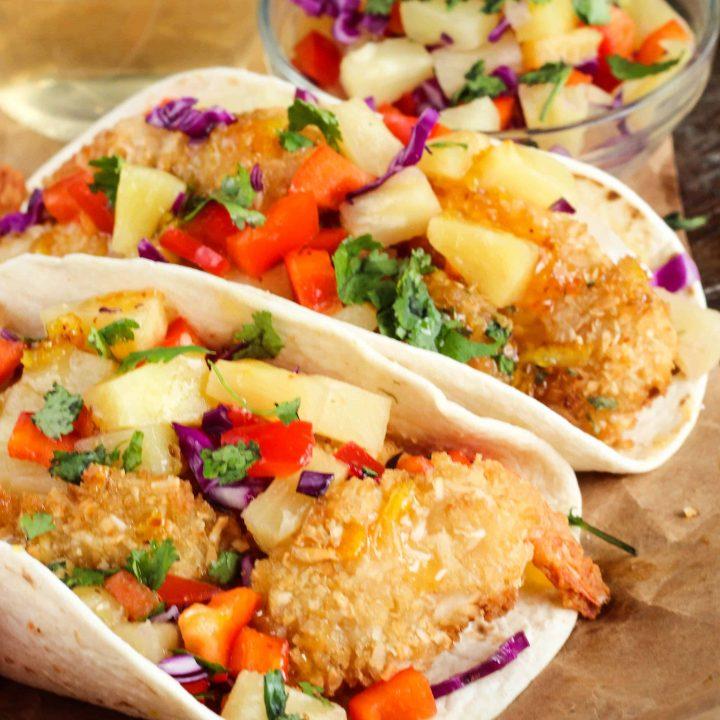 Coconut Shrimp Tacos Recipe