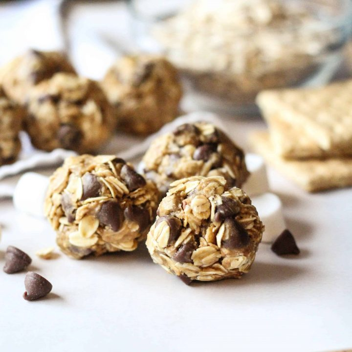 S'mores Snack Balls