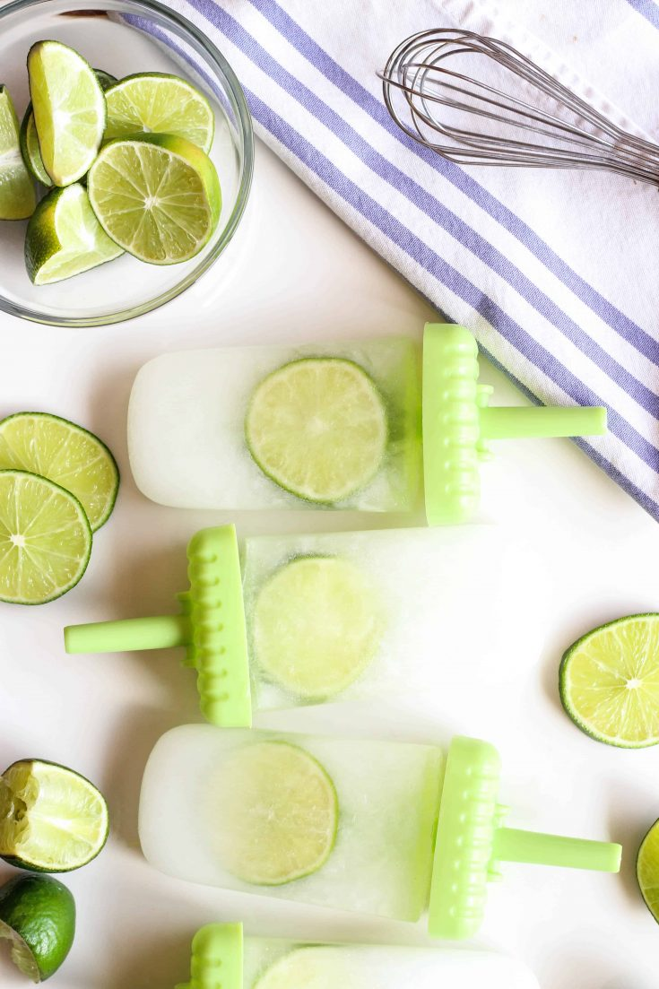 Lime Popsicles
