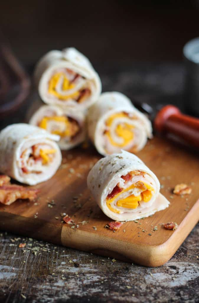 turkey club roll-ups