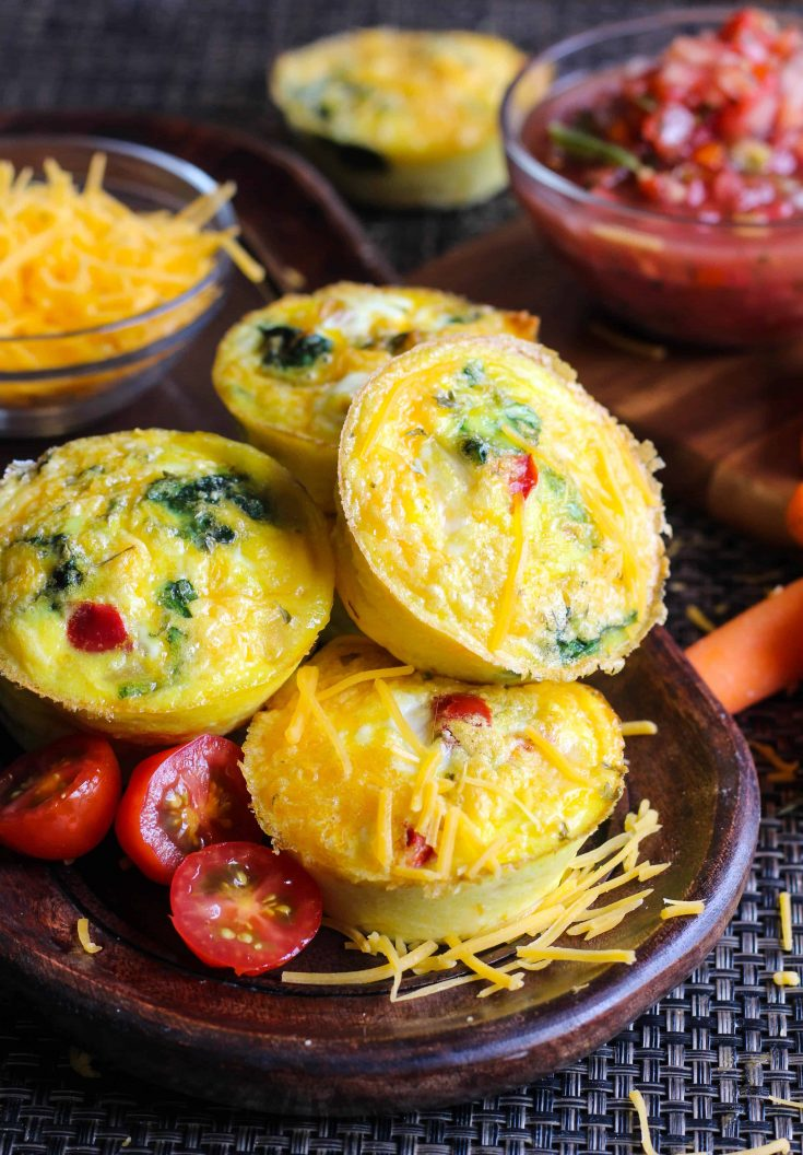 Fajita Egg Muffins