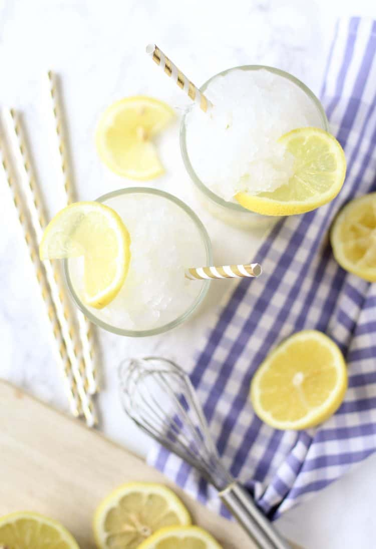 Turmeric Frozen Lemonade