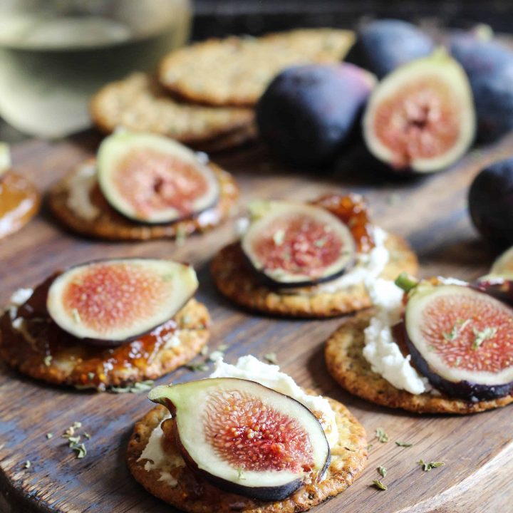 Cream Cheese and Fig Jam Appetizer