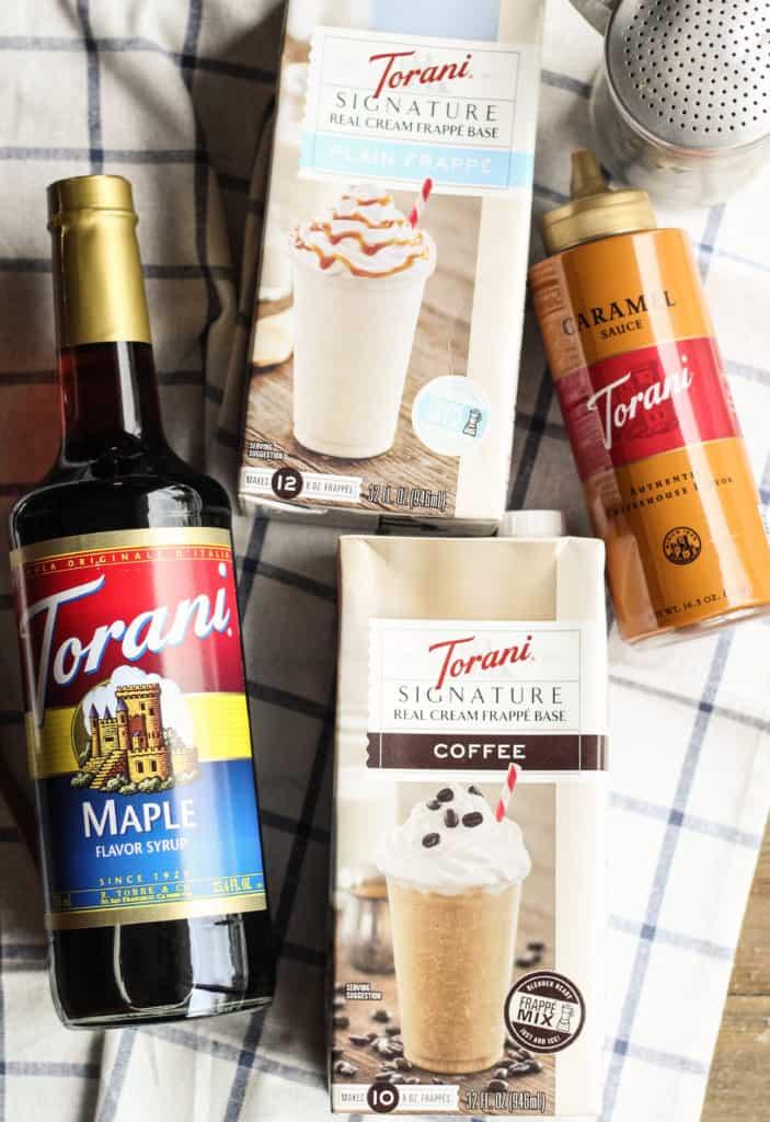Torani Frappe Mixes