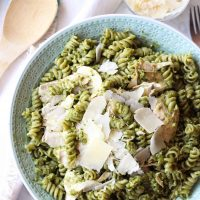 4 Ingredient Pesto Chicken