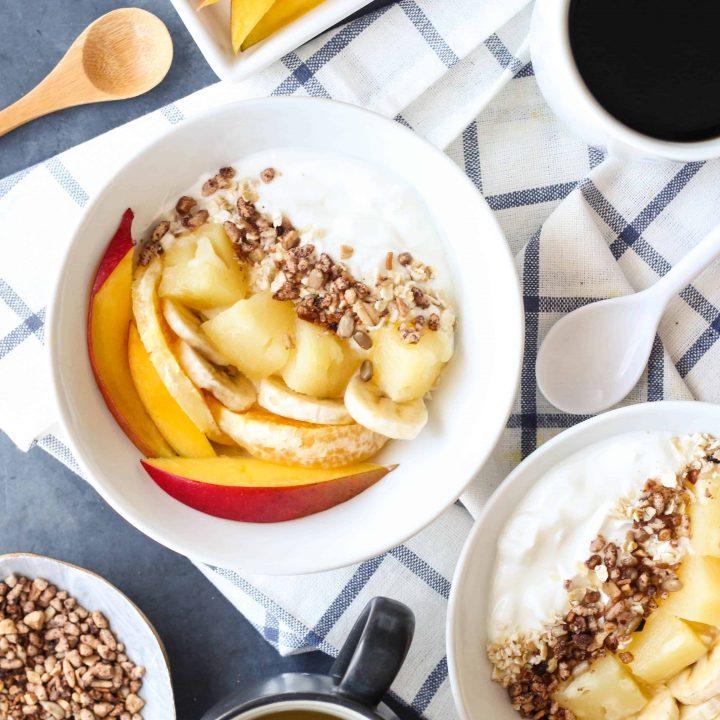 Piña Colada Yogurt Recipe