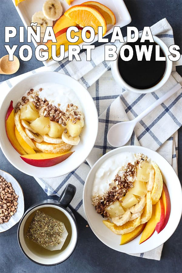 Piña Colada Yogurt Bowl