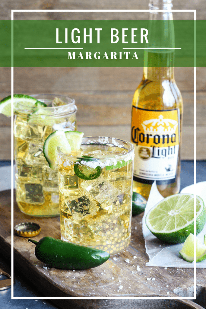 light beer margarita
