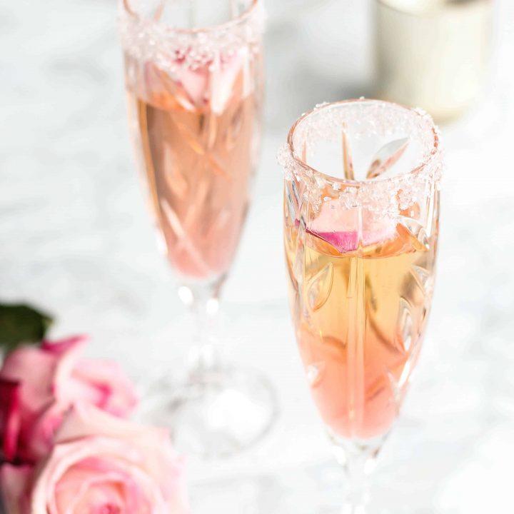 Peach Bellini Mocktail Recipe