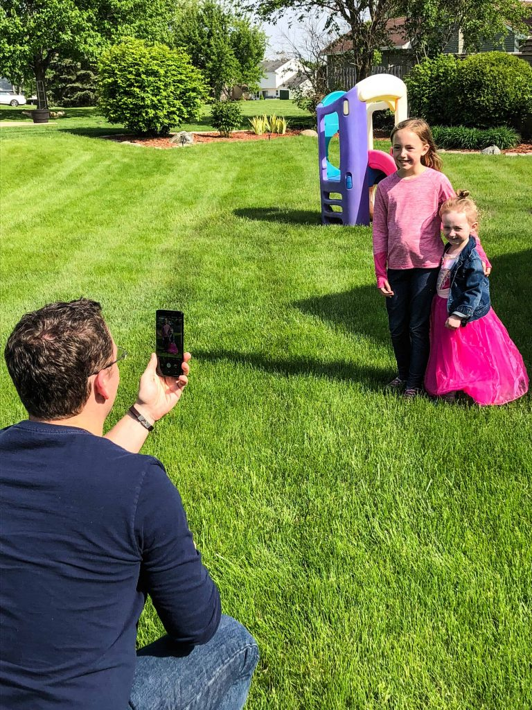 take more professional photos of your kids