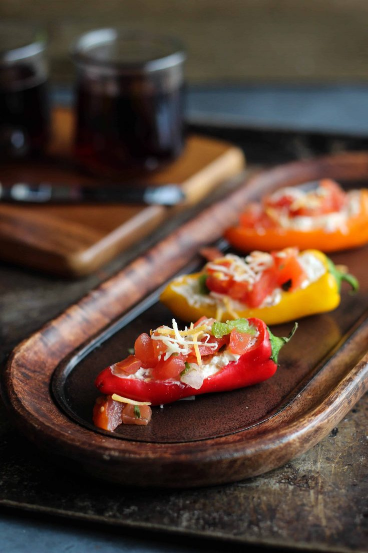 Mini Pepper Appetizers