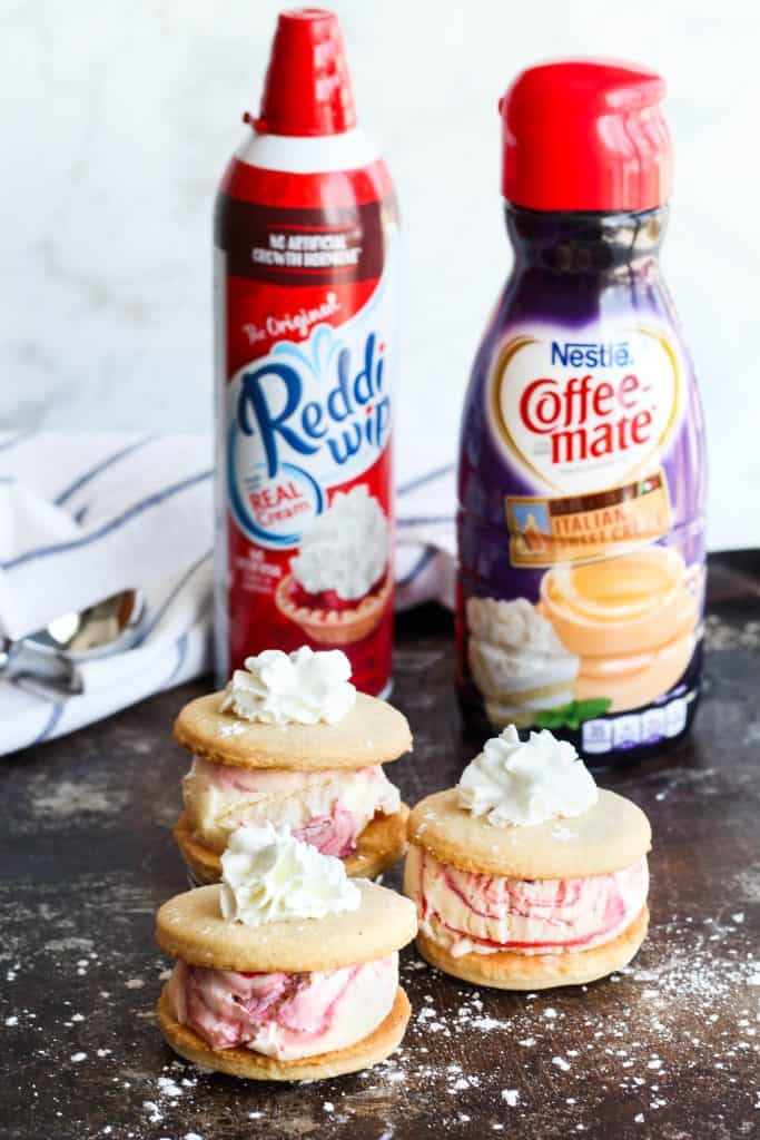 easy recipe Sweet Cream and Mixed Berry Ice Cream Sandwiches
