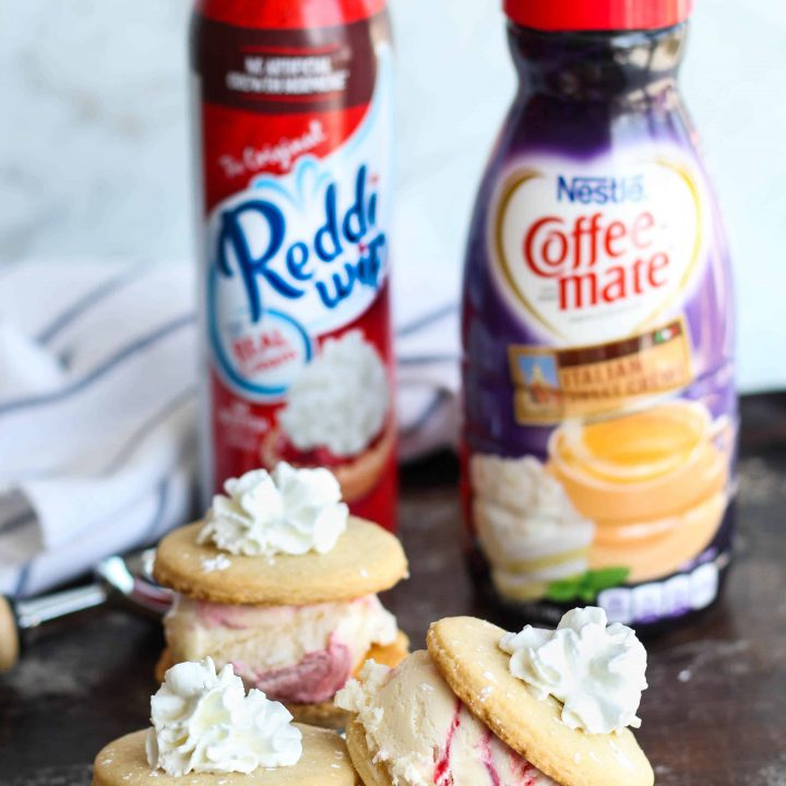 Vanilla Cookie Ice Cream Sandwich Recipe