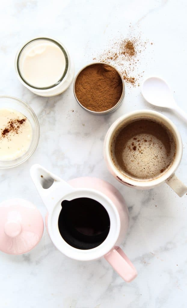 cinnamon bulletproof coffee almond milk