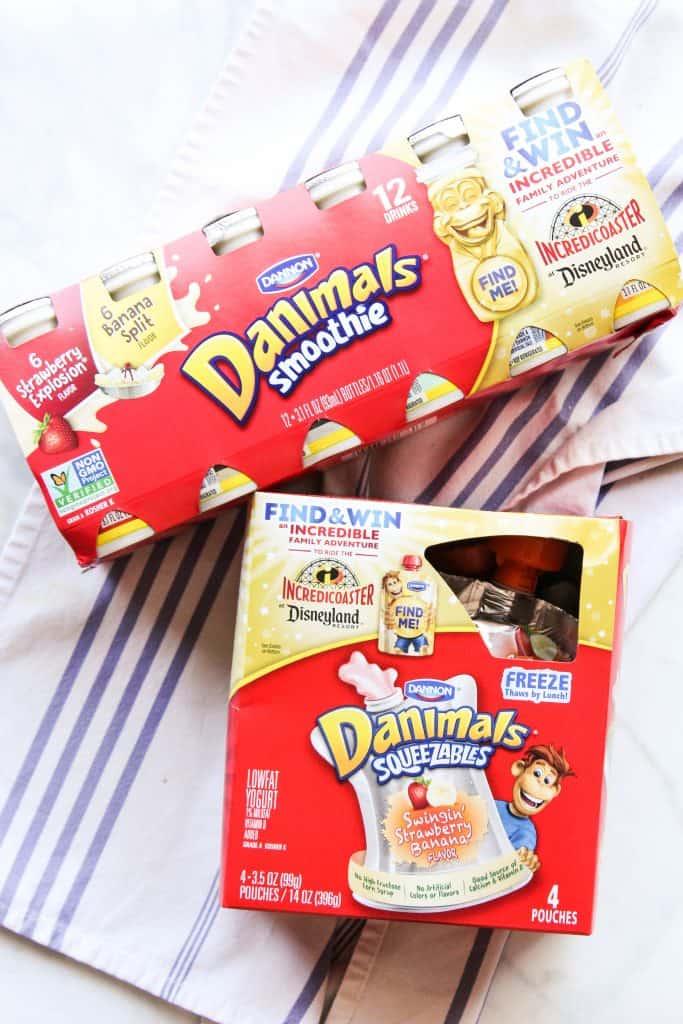 Dannon Danimals for school lunches