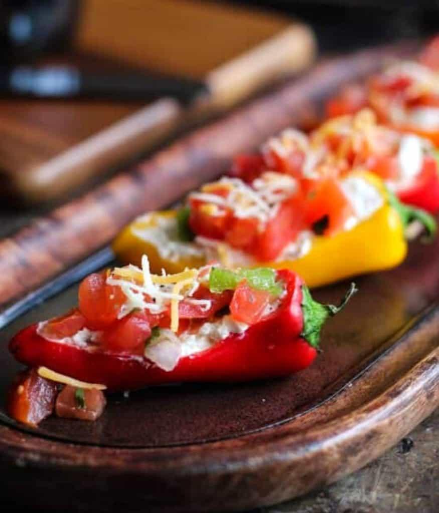 Mini Pepper Appetizers