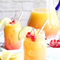 Easy 3 Ingredient Orangeade Drink