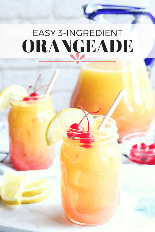 easy 3 ingredient orangeade fun drink for kids
