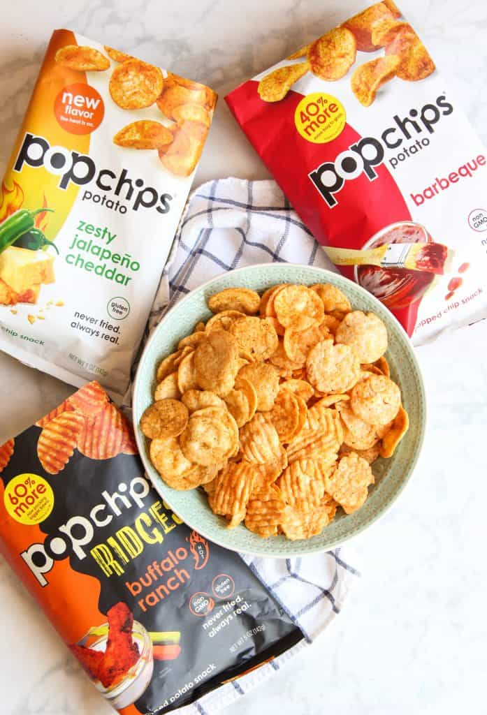 popchips snack serving suggestion
