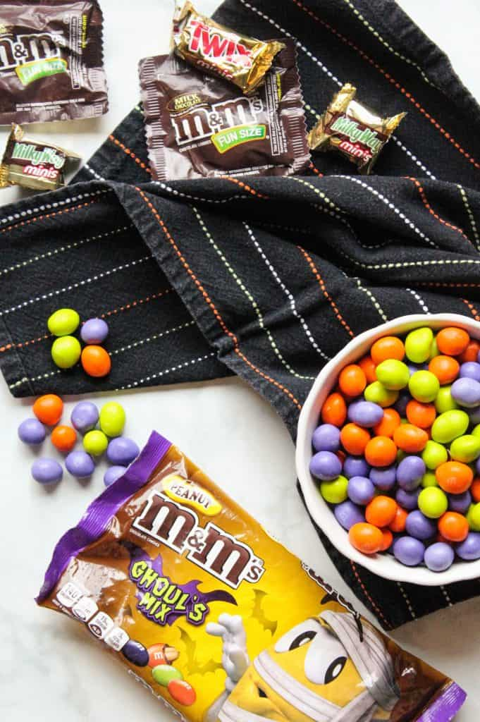Halloween M&M's