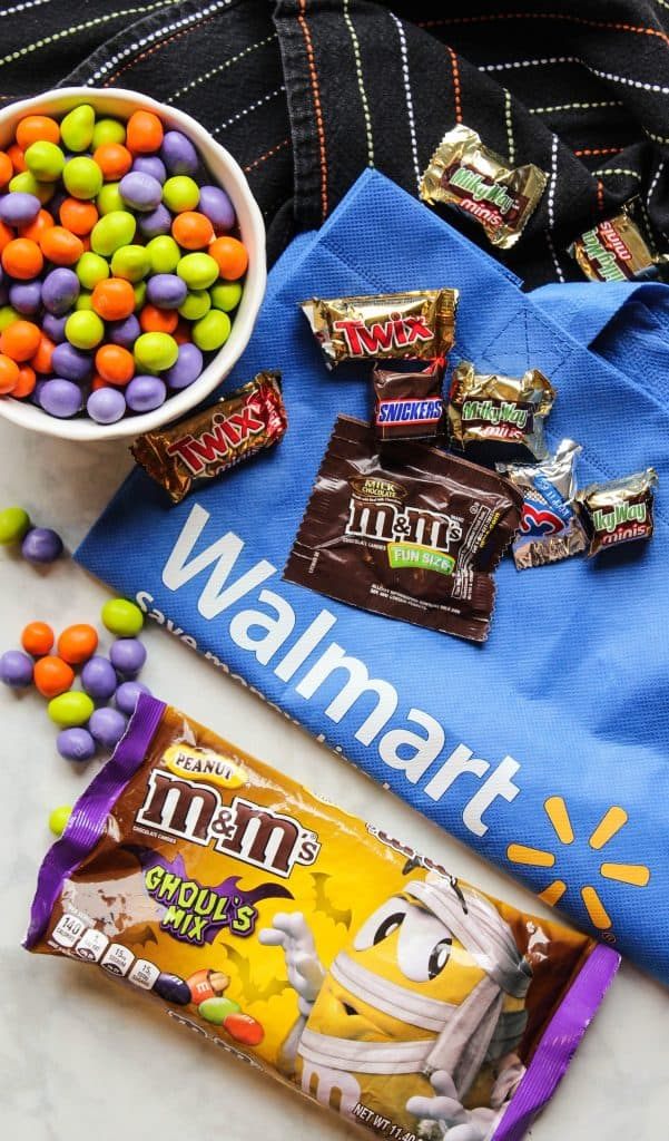 Halloween candy at Walmart