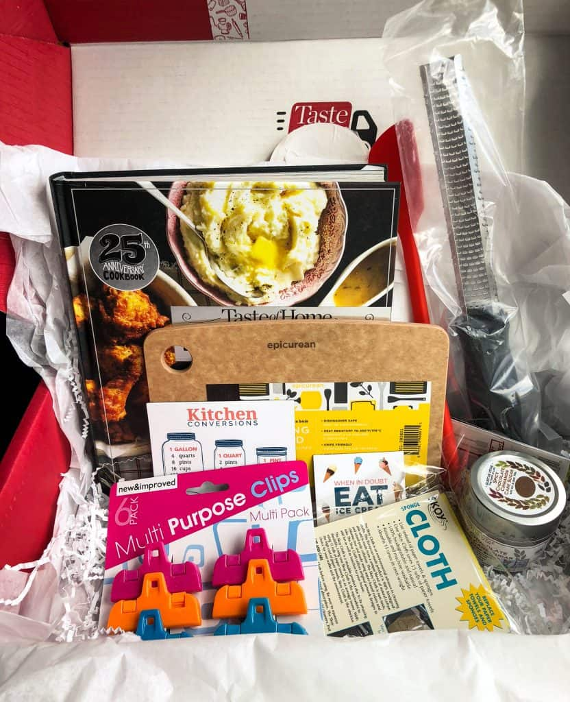 taste of home subscription box fall 2018