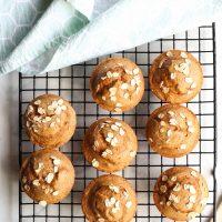 Pumpkin Spice Muffins with Applesauce