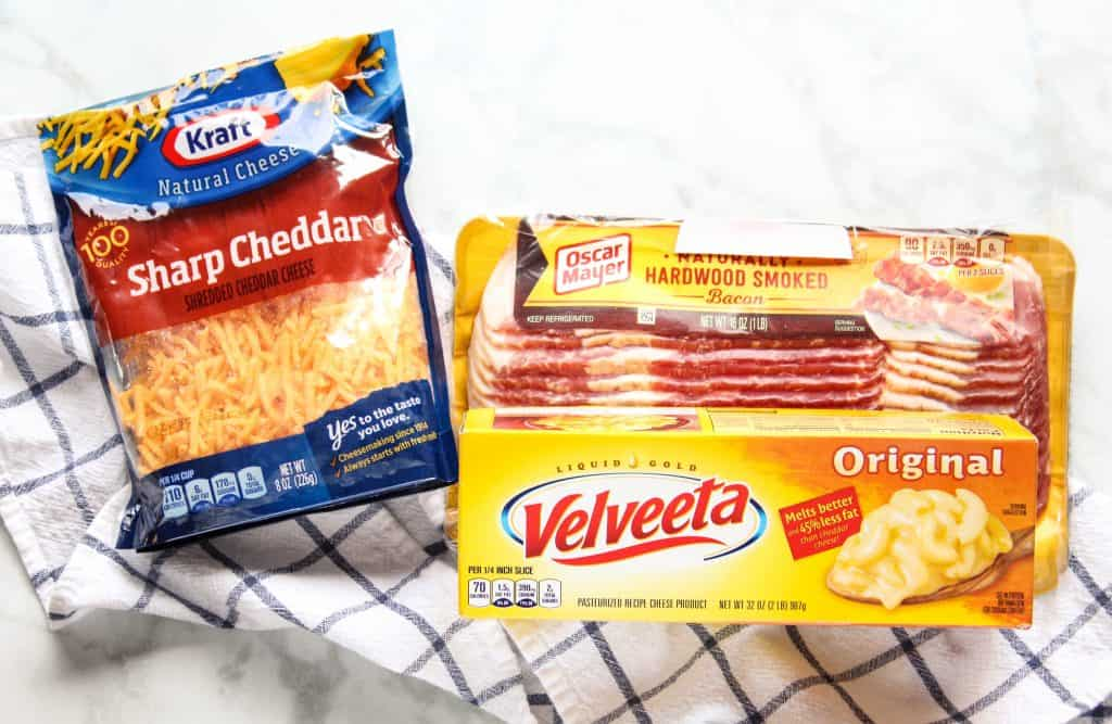 Kraft Sharp Cheddar Cheese and Velveeta Cheese