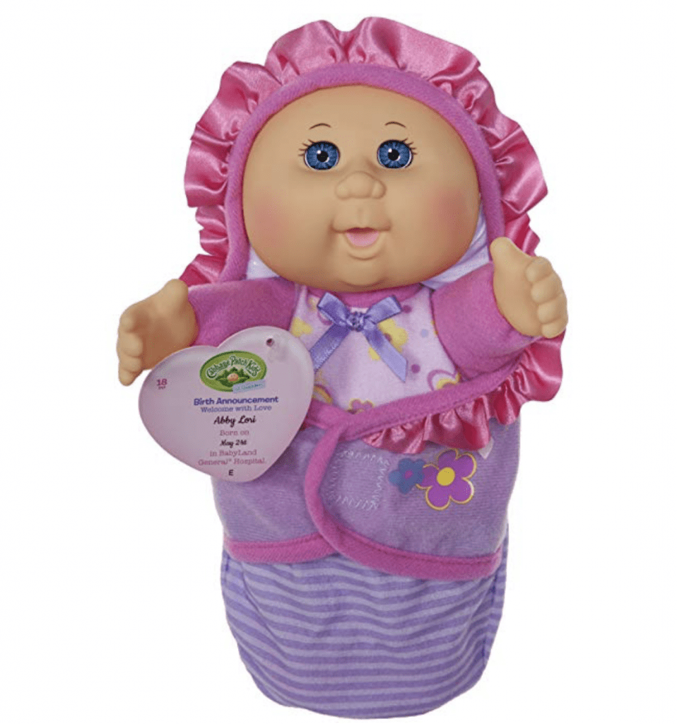 Cabbage Patch Kids Newborn Baby Girl