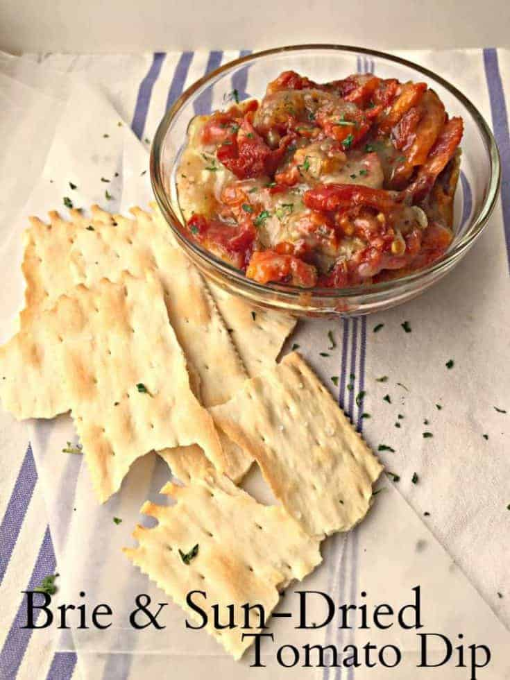 Brie & Sun-Dried Tomato Dip