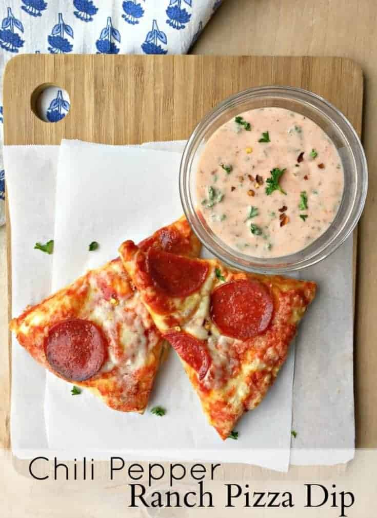 Chili Pepper Ranch Pizza Dipping Sauce