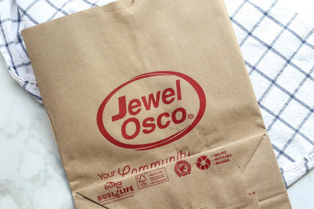 Jewel Osco bag