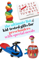 Kid-Tested Gifts for Preschoolers with Special Needs
