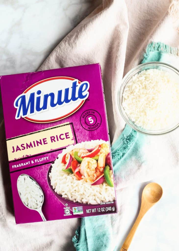 Minute Jasmine Rice small bowl