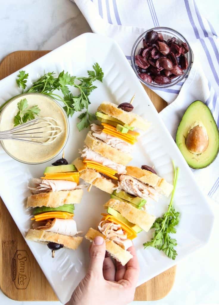 California Club Sandwiches