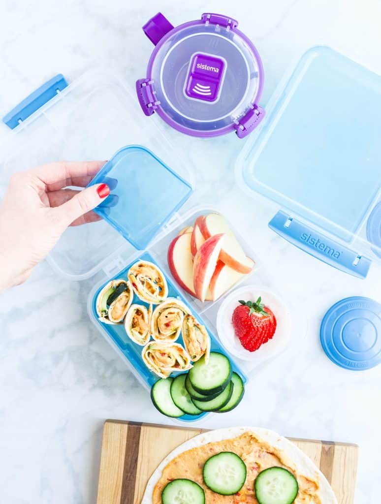 Sistema containers with lunch