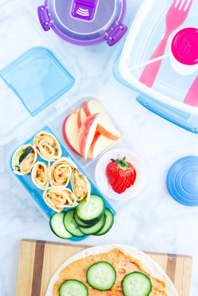 lunch packed in Sistema containers