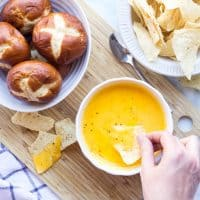 Cheddar Ale Dip Party Recipe
