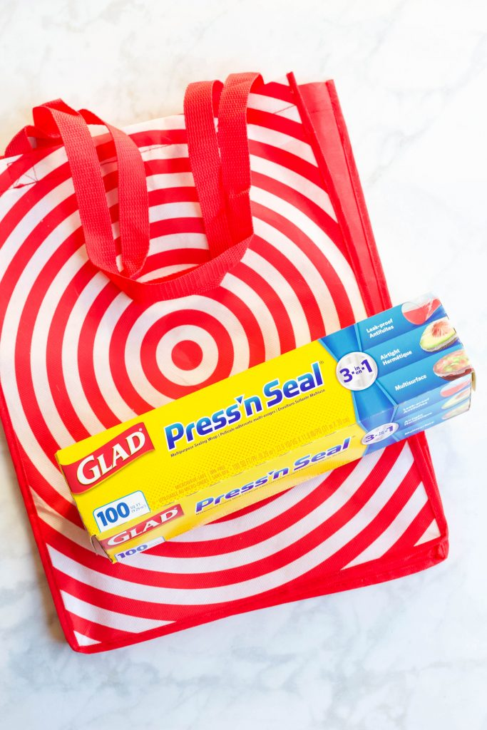 GLAD Press'n Seal with Target Bag
