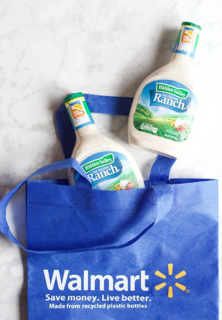Hidden Valley Ranch dressing bottles