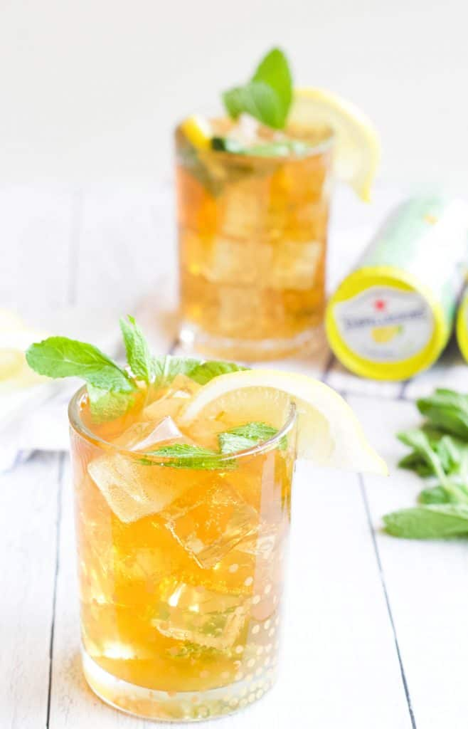 summer mocktails made with san pellegrino