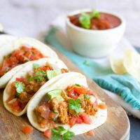Instant Pot Turkey Tacos