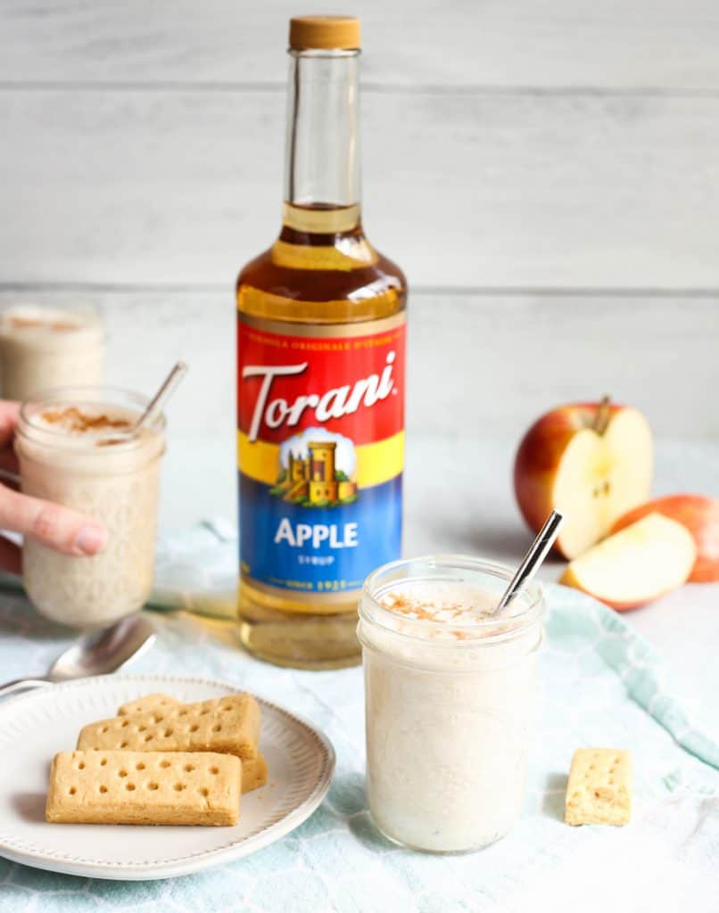 Apple Pie Smoothie with Torani Apple Syrup