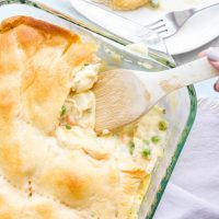 Creamy Chicken Pot Pie Casserole