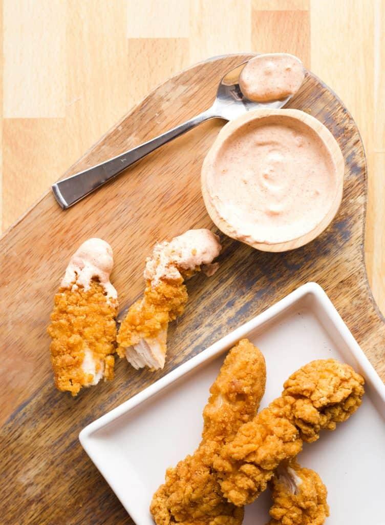 southwest dip on chicken tenders