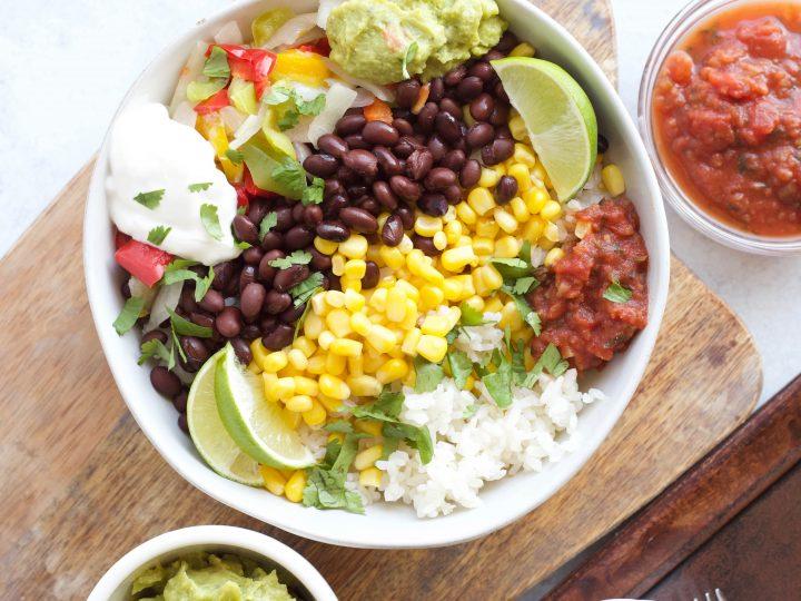 Vegetarian Burrito Bowl Delicious Made Easy