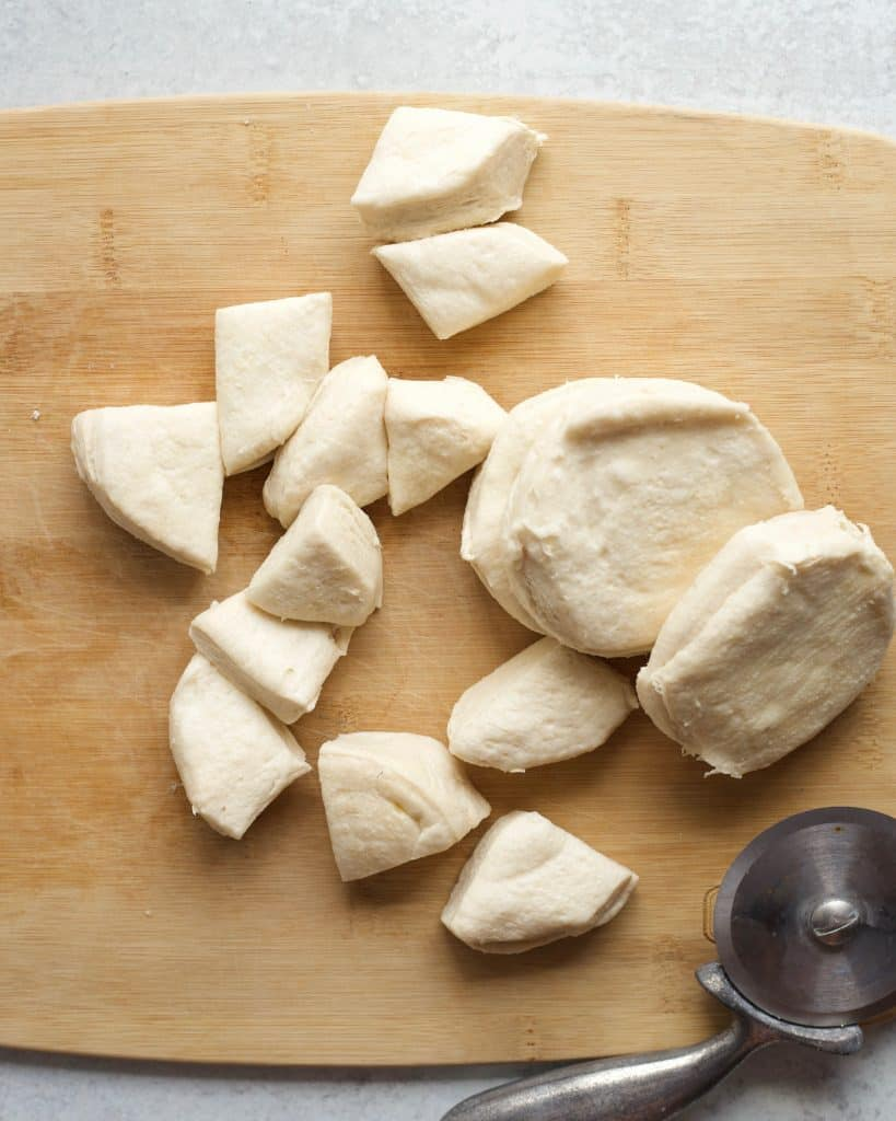 chopped biscuits