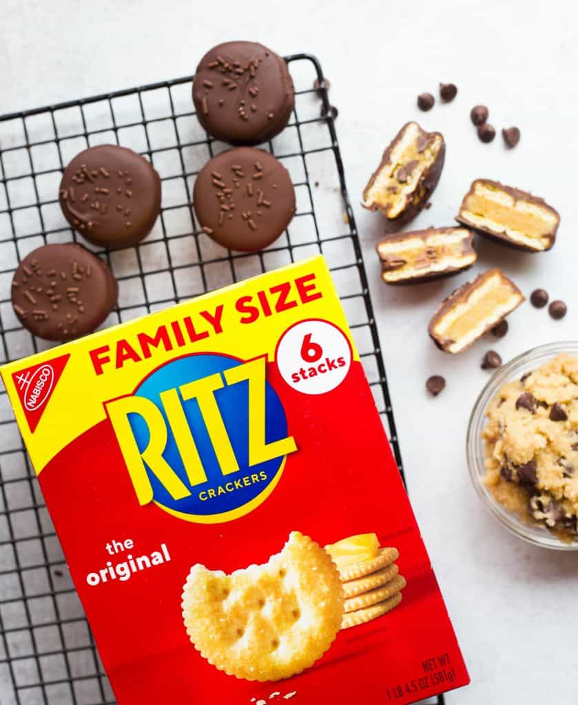 Cookie Dough RITZ Crackers Sandwiches
