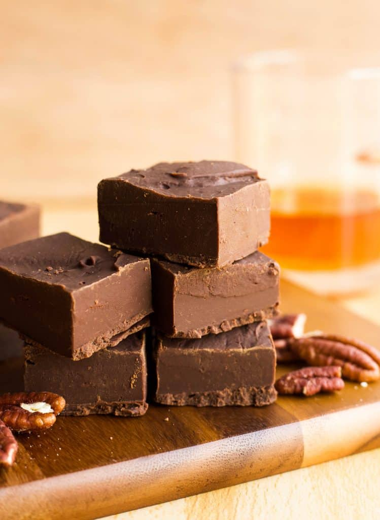 Bourbon Fudge Delicious Made Easy