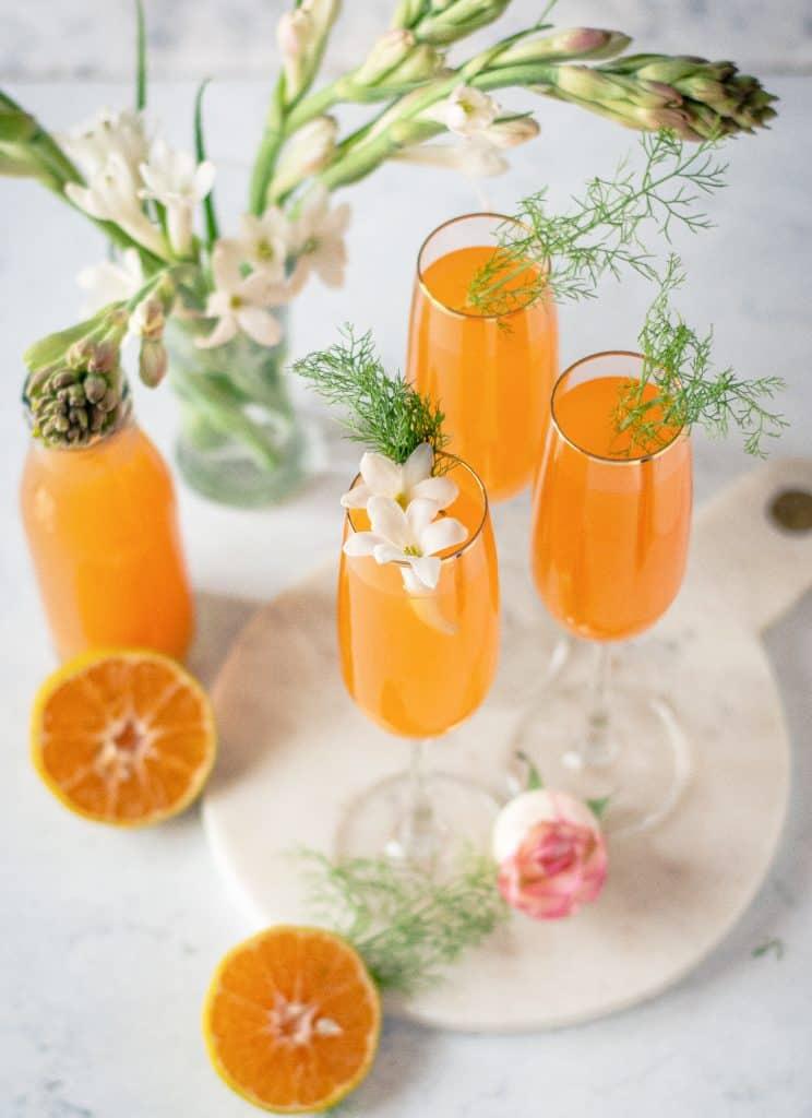 Mimosa Mocktail